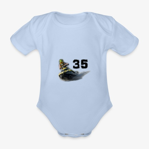 jetski35 - Vauvan lyhythihainen luomu-body