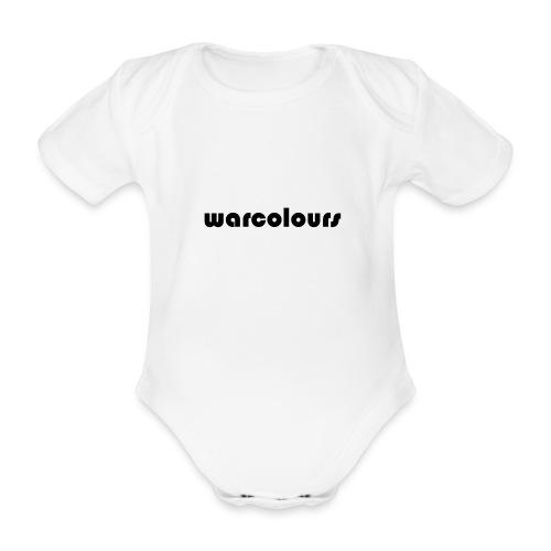 warcolours logo - Organic Short-sleeved Baby Bodysuit