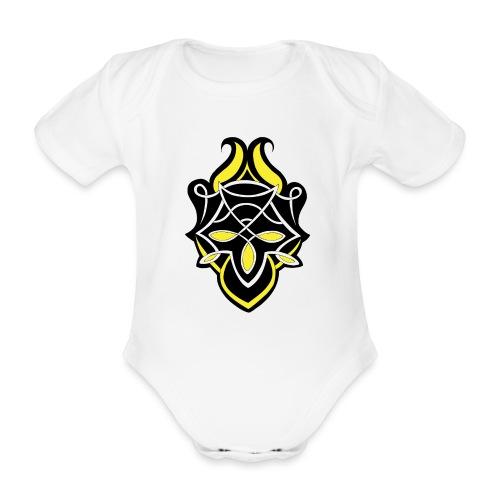 Celtic Ornament 05 - Baby Bio-Kurzarm-Body