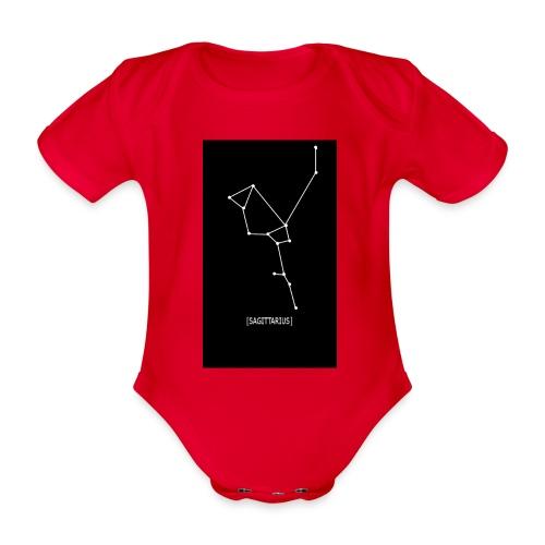 SAGITTARIUS EDIT - Organic Short-sleeved Baby Bodysuit