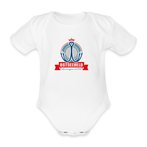 geweihbär Ostseeheld - Baby Bio-Kurzarm-Body