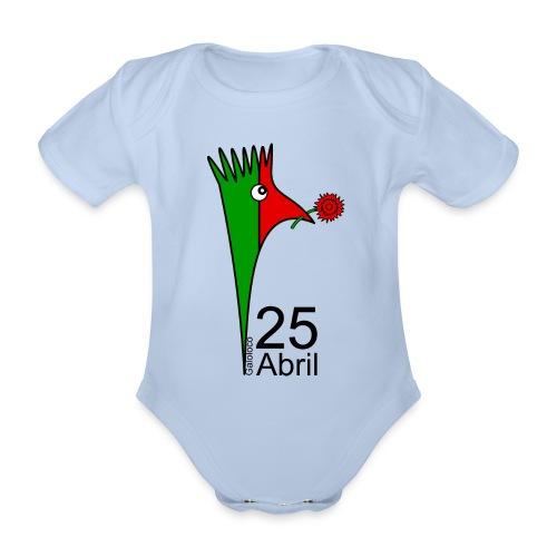 Galoloco - 25 Abril - Organic Short-sleeved Baby Bodysuit