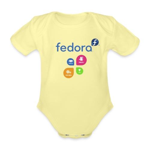 fedora 4f - Body Bébé bio manches courtes