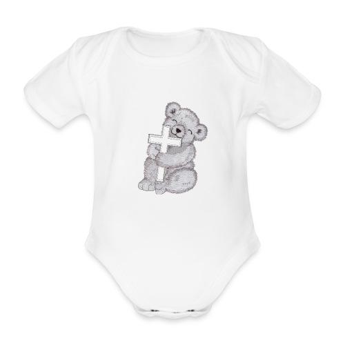 Loggis - Ekologisk kortärmad babybody