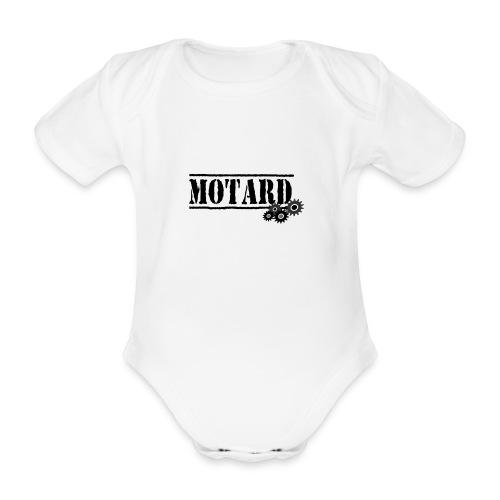 Motard Logo - Body ecologico per neonato a manica corta
