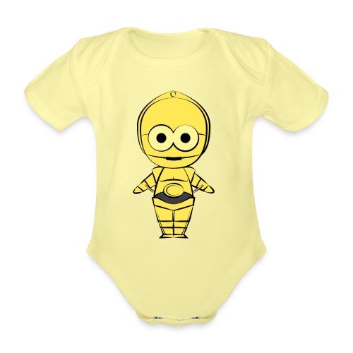 C-3PO - Body Bébé bio manches courtes