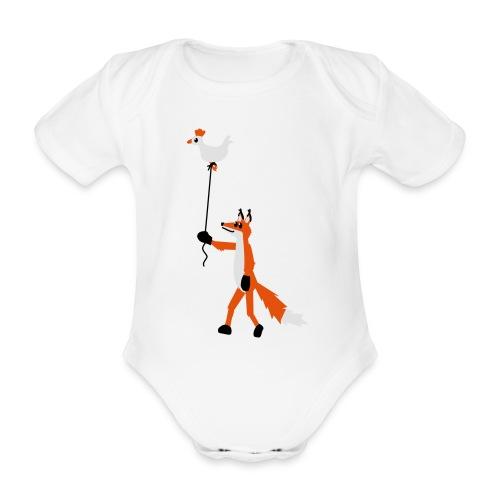 Fuchs und Henne - Baby Bio-Kurzarm-Body