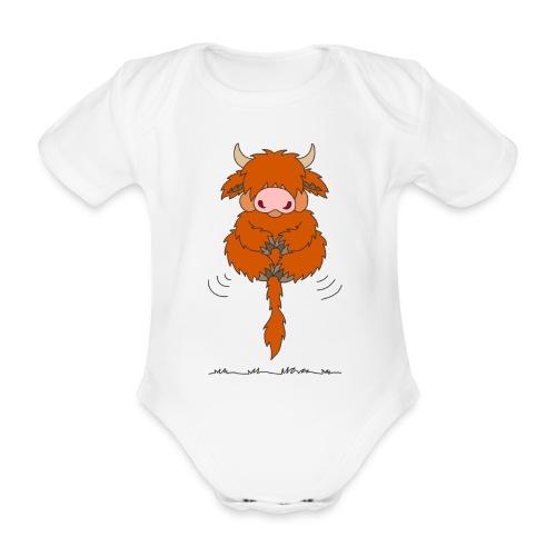 Shortcake - Total entspannt - Baby Bio-Kurzarm-Body