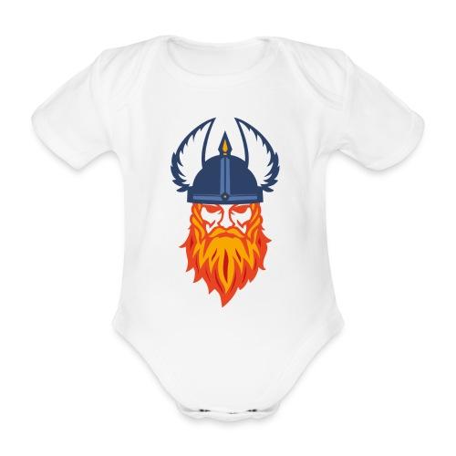 Viking Crafter's Merchandise - Kortærmet babybody, økologisk bomuld