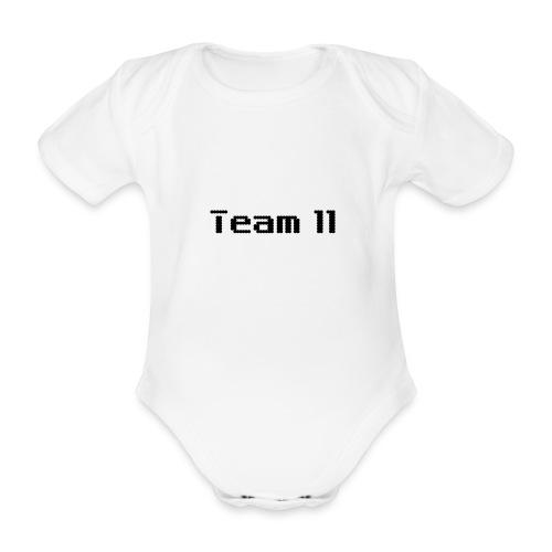 Team 11 - Organic Short-sleeved Baby Bodysuit