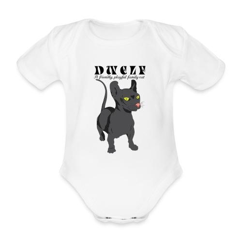 DWELF - Vauvan lyhythihainen luomu-body