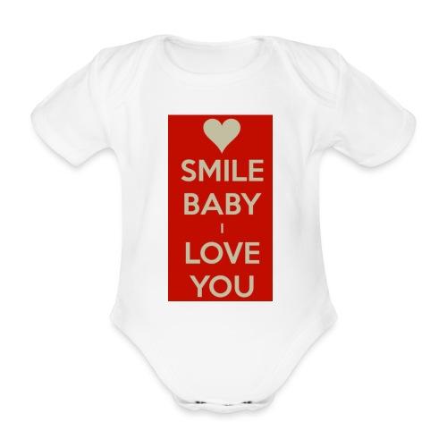 13EA371C 7A76 4027 BF26 429EE3809D0D - Ekologisk kortärmad babybody