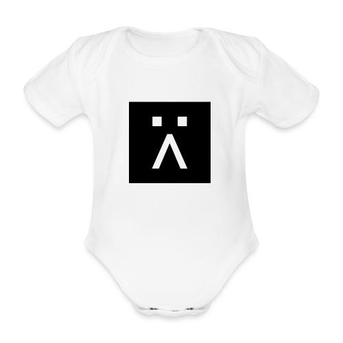 G-Button - Organic Short-sleeved Baby Bodysuit