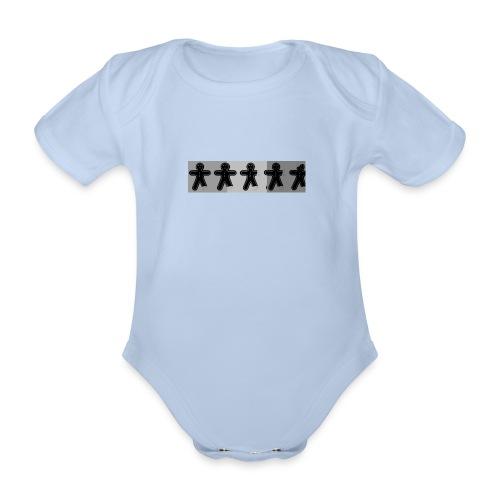 ginger3 jpg - Organic Short-sleeved Baby Bodysuit