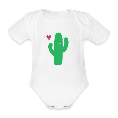 Cute cactus - Body Bébé bio manches courtes