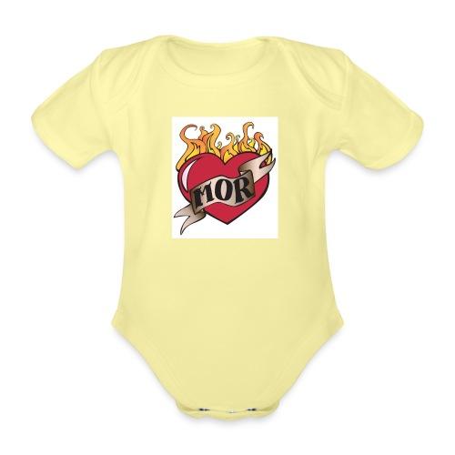 MOR - Kortærmet babybody, økologisk bomuld
