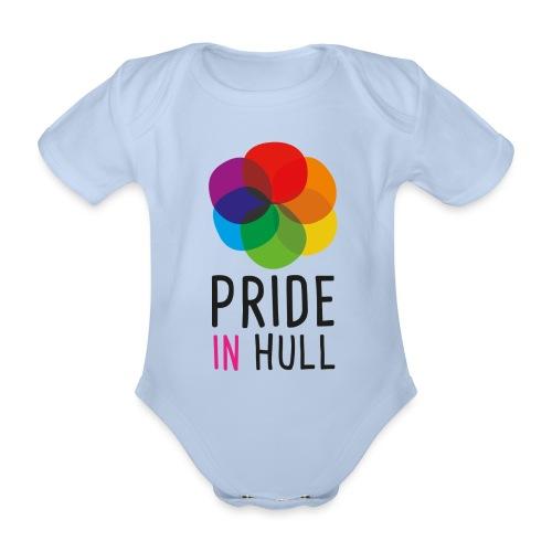 Pride in Hull - Organic Short-sleeved Baby Bodysuit