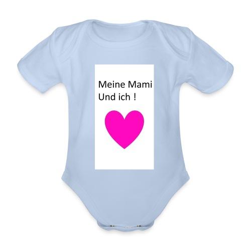 Meine Mami und ich - Baby Bio-Kurzarm-Body