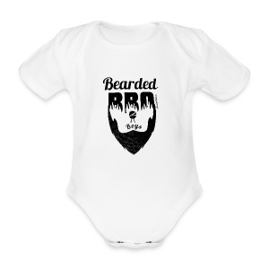 Berded BBQ Boys BLack Edition - Baby Bio-Kurzarm-Body