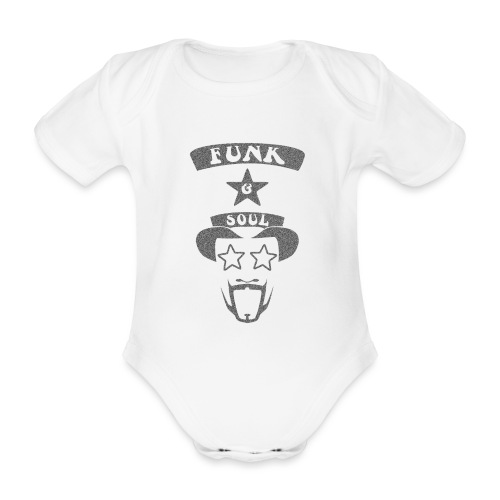 bootsy grey noise png - Organic Short-sleeved Baby Bodysuit