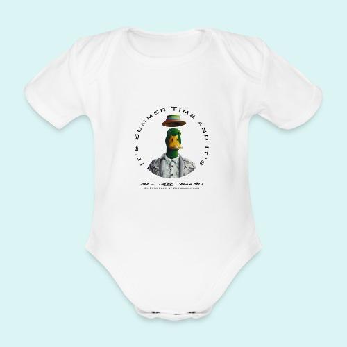 El Pato Loco - Organic Short-sleeved Baby Bodysuit