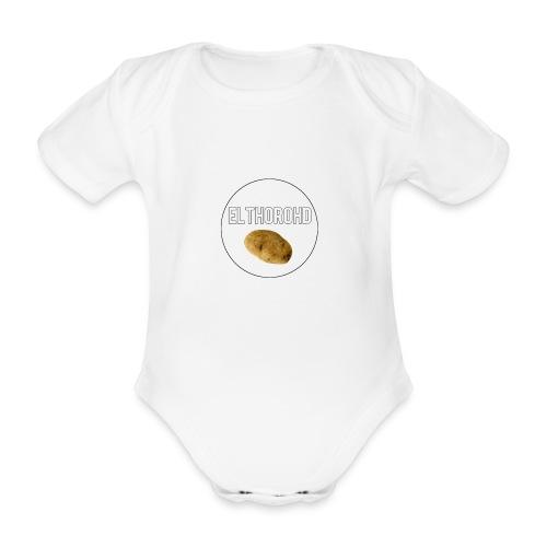 ElthoroHD trøje - Kortærmet babybody, økologisk bomuld