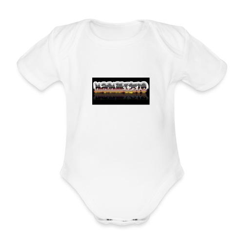 coollogo com 137825106 - Organic Short-sleeved Baby Bodysuit