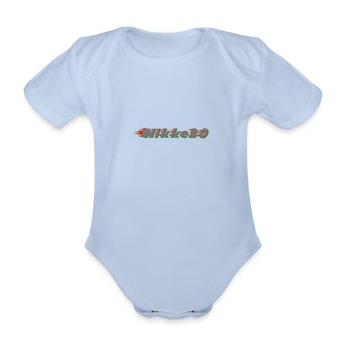 Nikke20 - Vauvan lyhythihainen luomu-body