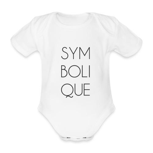 Symbolique - Body Bébé bio manches courtes