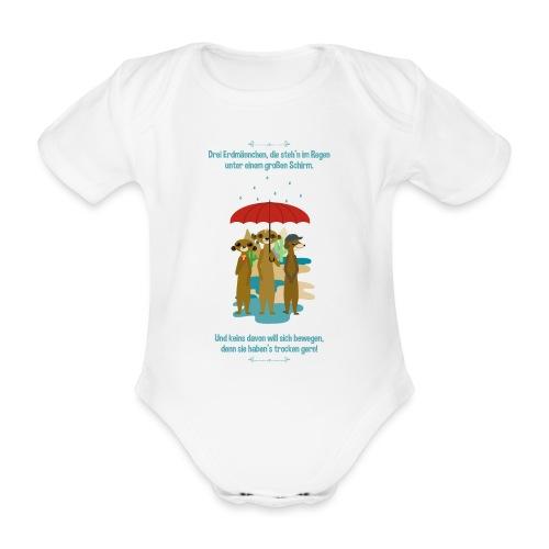Erdmännchen - Baby Bio-Kurzarm-Body