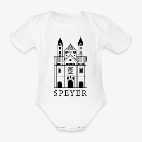 Speyer - Dom - Classic Font - Baby Bio-Kurzarm-Body