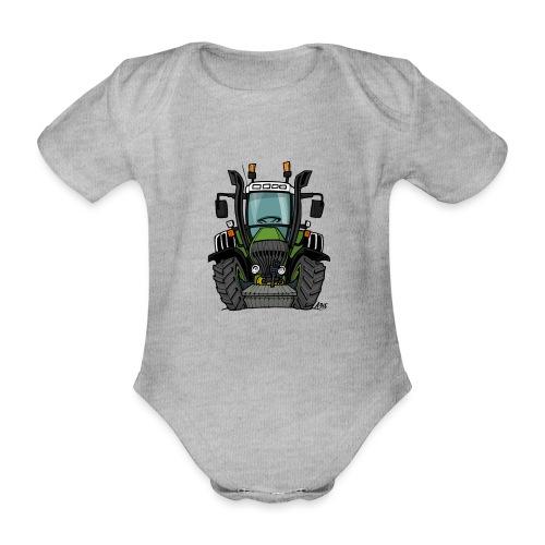 0062 F - Baby bio-rompertje met korte mouwen