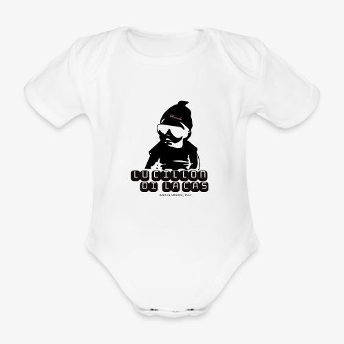 Lu Cillon di la Cas - Body ecologico per neonato a manica corta