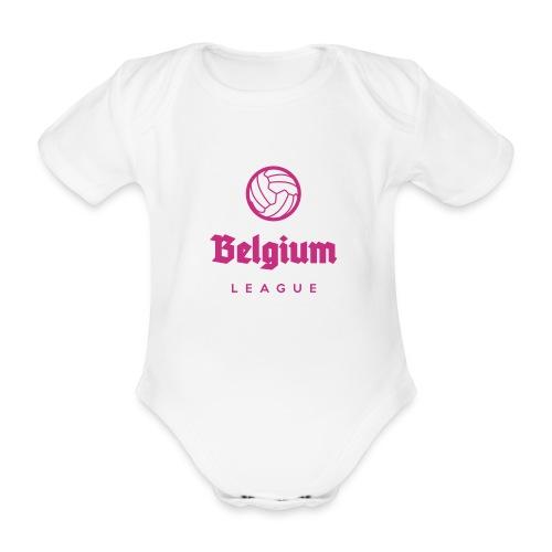 Belgium football league belgië - belgique - Body Bébé bio manches courtes