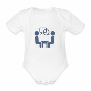 Business Meeting - Ekologisk kortärmad babybody