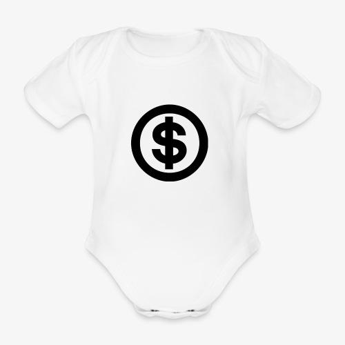 marcusksoak - Kortærmet babybody, økologisk bomuld