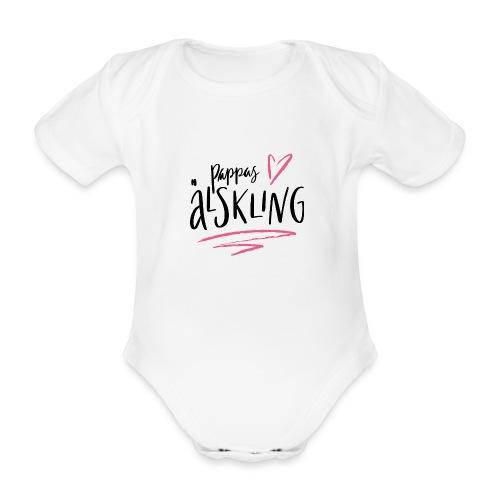 Pappas älskling - Ekologisk kortärmad babybody