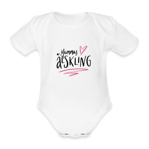 Mammas älskling - Ekologisk kortärmad babybody