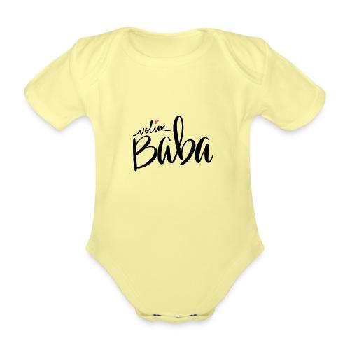 Volim Baba - Ekologisk kortärmad babybody