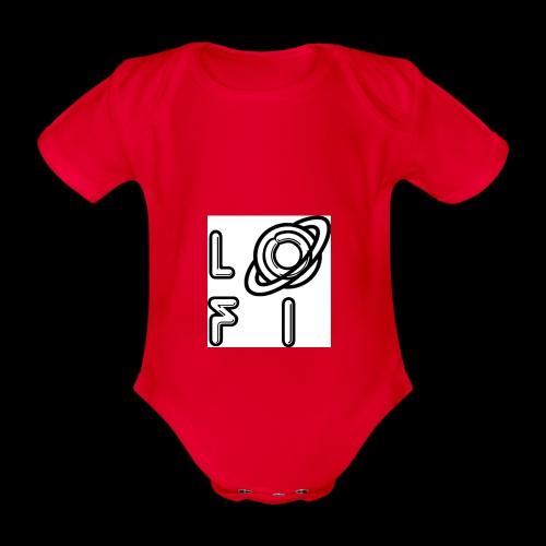 PLANET LOFI - Organic Short-sleeved Baby Bodysuit