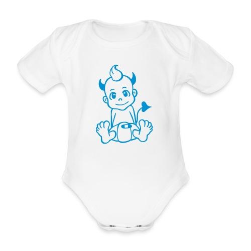 Kleiner Teufel - Baby Bio-Kurzarm-Body