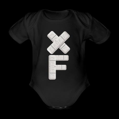 XF Xanax Logo - Baby Bio-Kurzarm-Body