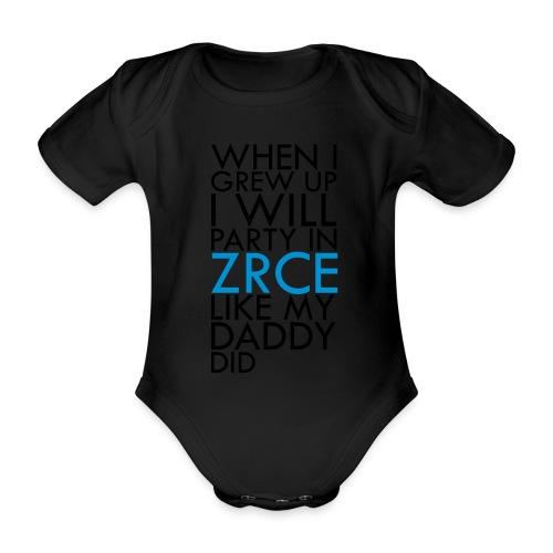 Grew up in Zrce - Baby Bio-Kurzarm-Body
