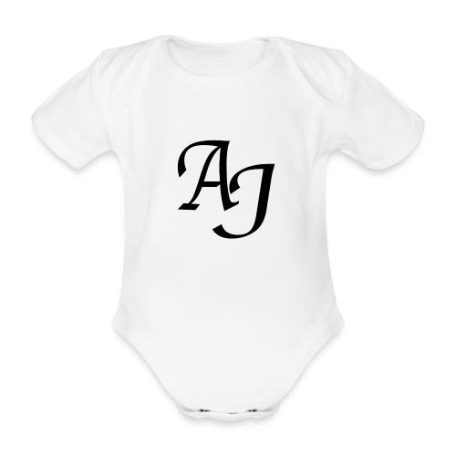 AJ Mouse Mat - Organic Short-sleeved Baby Bodysuit