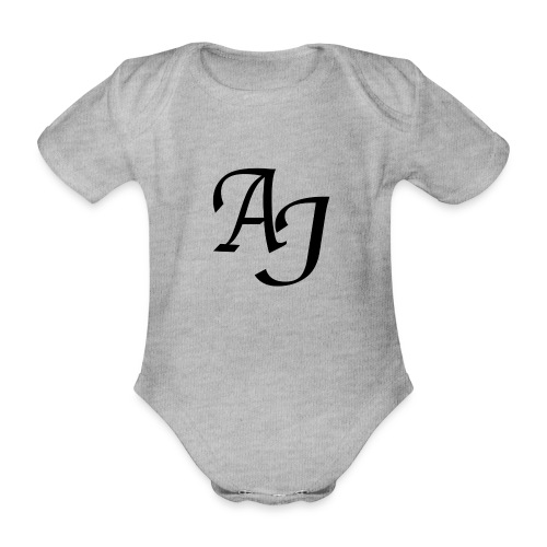 AJ Mouse Mat - Organic Short-sleeved Baby Bodysuit