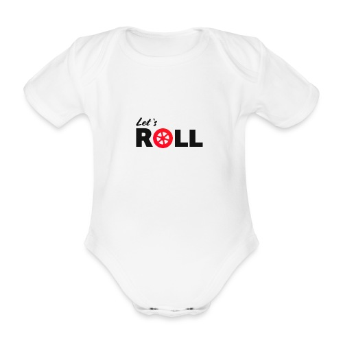 Lets Roll Speedskater - Baby Bio-Kurzarm-Body