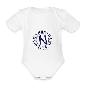 NUOTO UNO STILE DI VITA - Body ecologico per neonato a manica corta