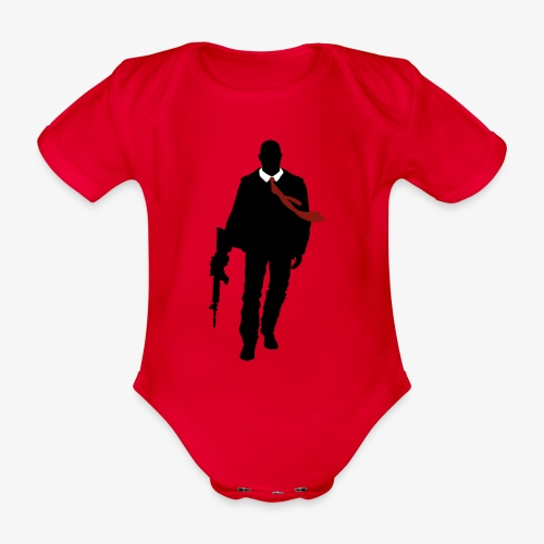 PREMIUM SO GEEEK HERO - MINIMALIST DESIGN - Body Bébé bio manches courtes