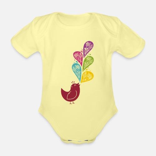Singvogel - Baby Bio-Kurzarm-Body