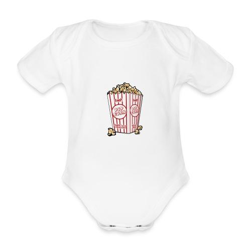 Popcorn trøje | ML Boozt | - Kortærmet babybody, økologisk bomuld